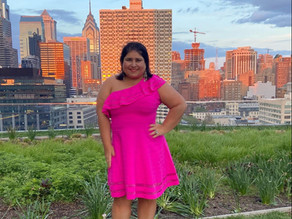 Dressing Up, Giving Back & The Philly Skyline From 168 Feet Up