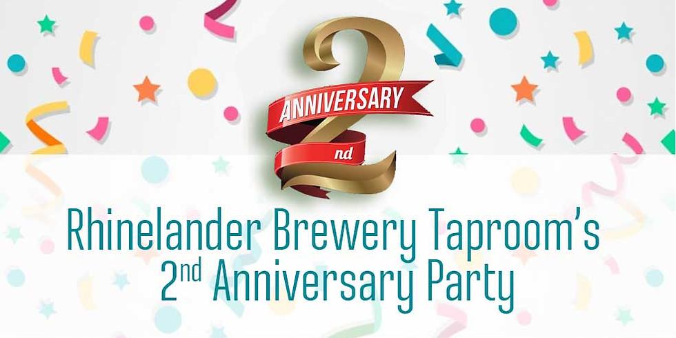 Rhinelander Taproom 2nd Anniversary Party
