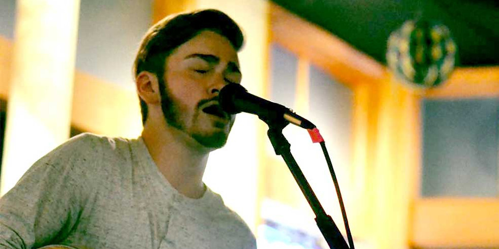 Live music by Levi Ballenger