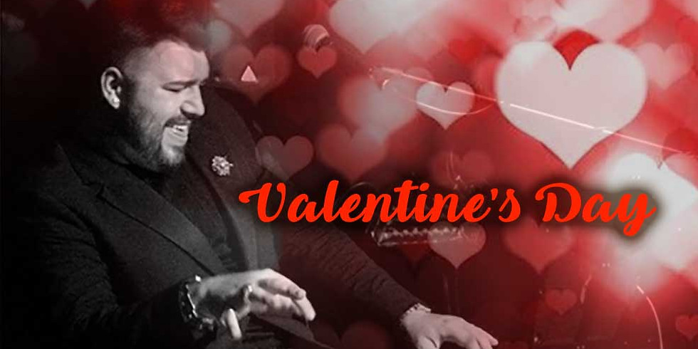 """Valentine's Day with """"The Piano Duke"""""""