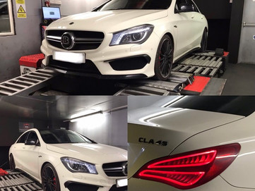 MERCEDES A45 AMG REMAPPING