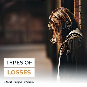 Types of Loss Grief Balanced Wheel Thumb