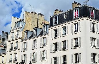 Façade de copro parisien harmonieuse