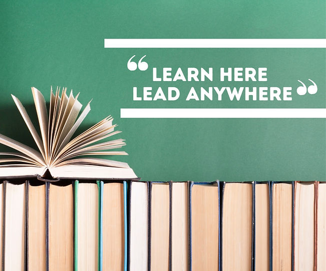 Learn Here Lead Anywhere