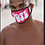 "Thumbnail: Hot Pink ""Vote"" Fashion Mask"