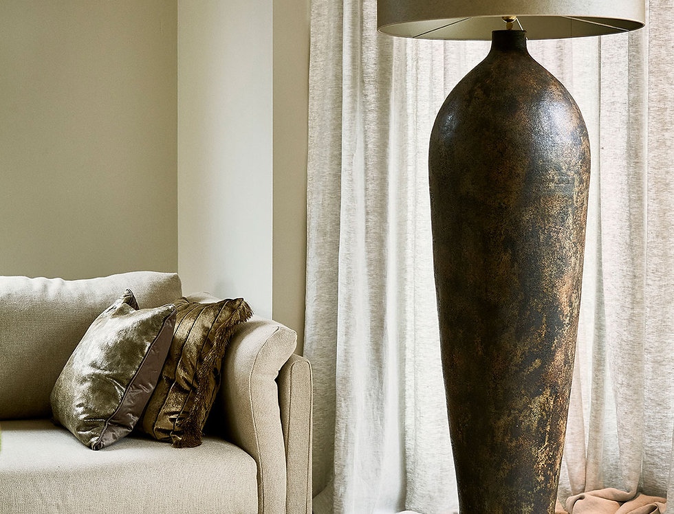Vorera Vase Floor Lamp