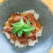 Gyūdon🤗 Bol de bœuf 🐂  Un bol de riz c