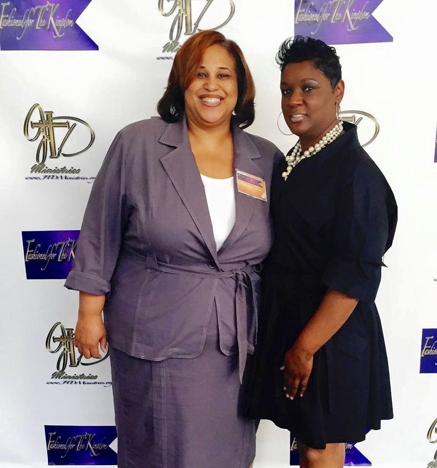 """""""Pastor Karen Harden & Rochelle"""""""