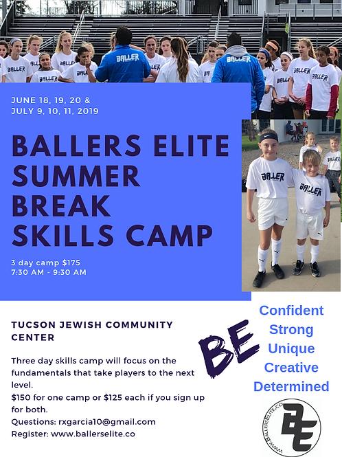 Tucson Summer Skills Camp