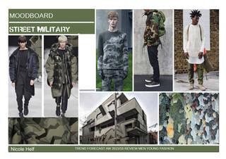 Moodboard Street Military