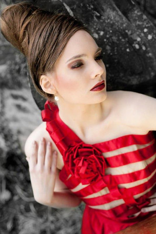 Fashion Design the Red Dress