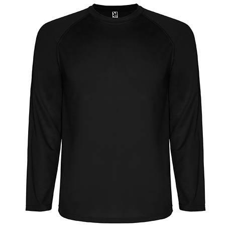 T shirt technique montecarlo manches longues 140g/m²