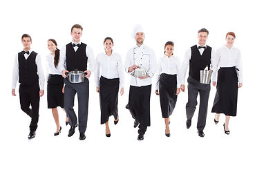 Hostess für Catering