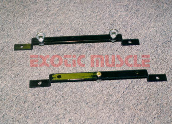 Lap belt and sub brackets C4