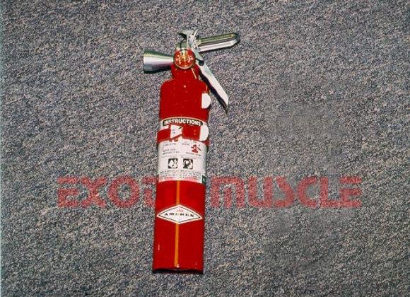 Halotron fire extiquisher