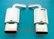 BORLA MUFFLERS LT1 TIPS C11020L 92-96