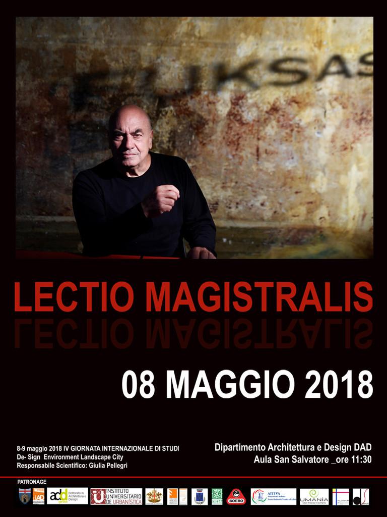 Massimiliano Fuksas_LECTIO MAGISTRALIS