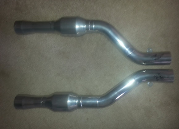 EM header extension pipes w/high flow cats