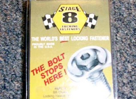 Stage 8 header bolt fasteners