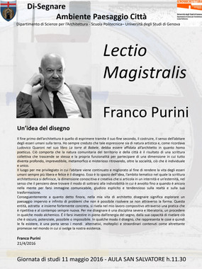Franco Purini_LECTIO MAGISTRALIS