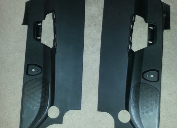 C7 Modified B panels for harness bar install