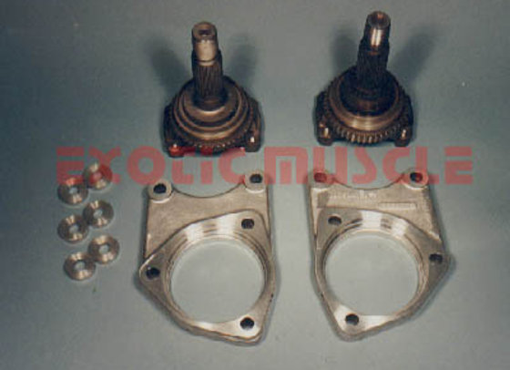 C4 rear wheel narrowing kit 88-96