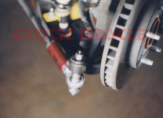 C4 EM front bump steer kit