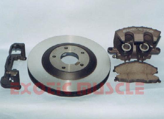 C4 to C5 brake conversion kit