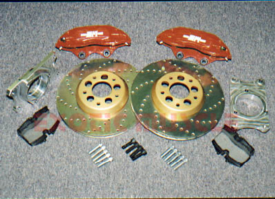 C30100 EM BIG BRAKE PKG REAR W/BREMBO CALIPERS (88-96)