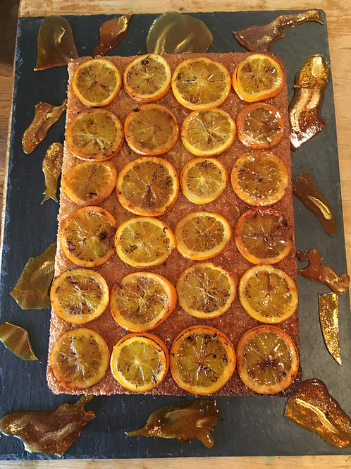 Tunisian Orange Cake - Self-Cut