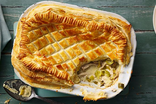 Creamy Chicken and Leek Pie - Small