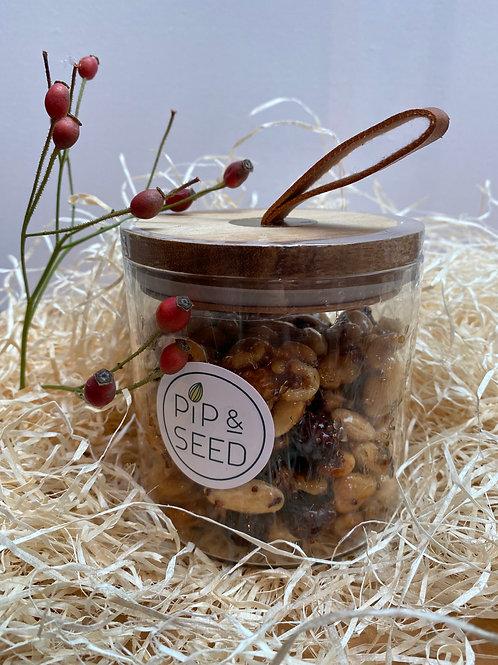 Jar Honey, Mustard & Rosemary Mixed Nuts