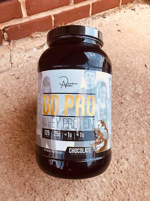 FT. SCOTT, KANSAS SHOPPERS: GO PRO Whey Protein (Chocolate & KID FRIENDLY)