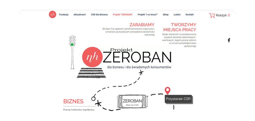 Projekt ZEROBAN czyli szycie toreb, koszy, kosmetyczek i gadżetów eventowych z banerów.