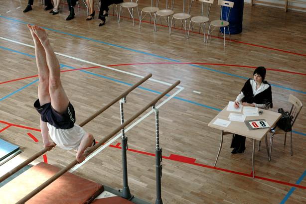 Zawody gimnastyczne