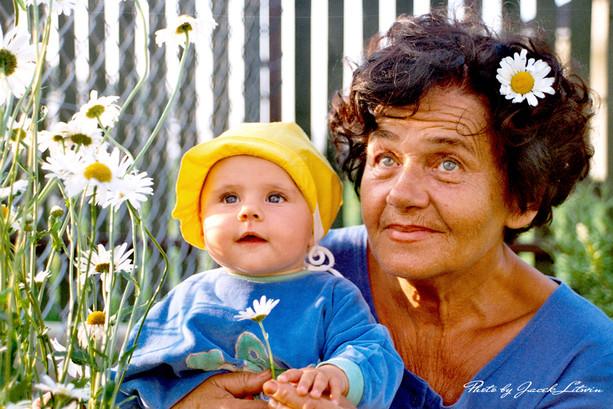 Babcia Hania z Julią
