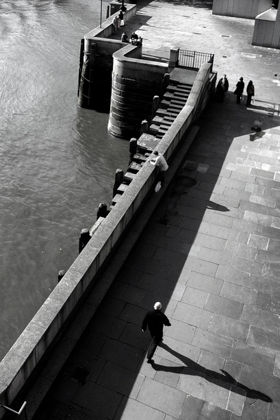 Widok z London Bridge, Londyn, 2006