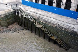 Widok z London Bridge, Londyn, 2007