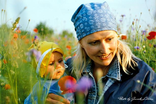 Mama Jola z Julią