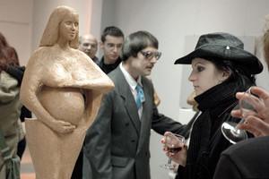 Wernisaż rzeźby
