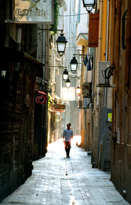 Dzień się budzi, Perpignan, 2001
