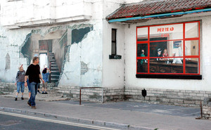 Mural, Swanage, 2007