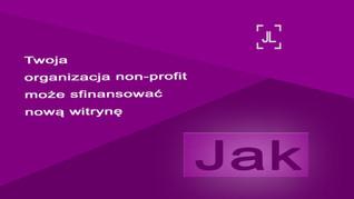 Jak Twoja organizacja non-profit może sfinansować nową witrynę?