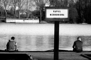 Nad jeziorem Długim, Olsztyn, 2006