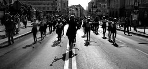 Parada ulicą 1 Maja, Olsztyn, 2005
