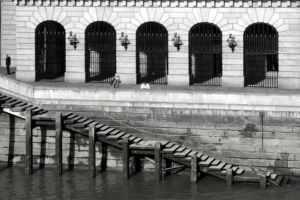 Lewy brzeg Tamizy, widok z London Bridge, Londyn