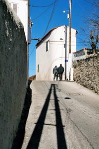 Wąskie, kręte i strome uliczki, Marsylia, 2000