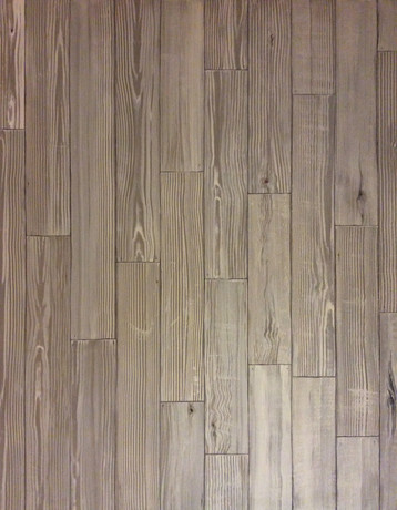 Faux planks wall - 1 of 2