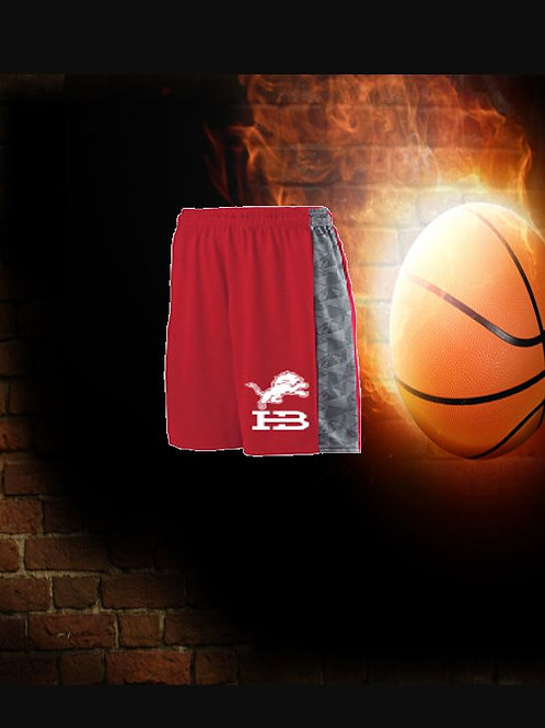 HB Youth Fast BreakGame Shorts - Red