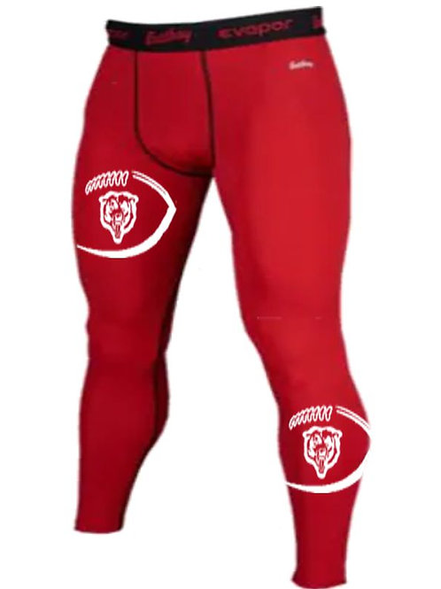Red Compression Tights - Butler Football